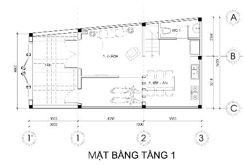 Tư vấn xây nhà 2,5 tầng với chi phí tối đa 700 triệu