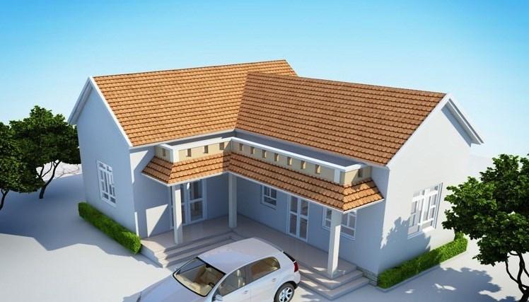 Các mẫu nhà mái thái chữ L đẹp cuốn hút