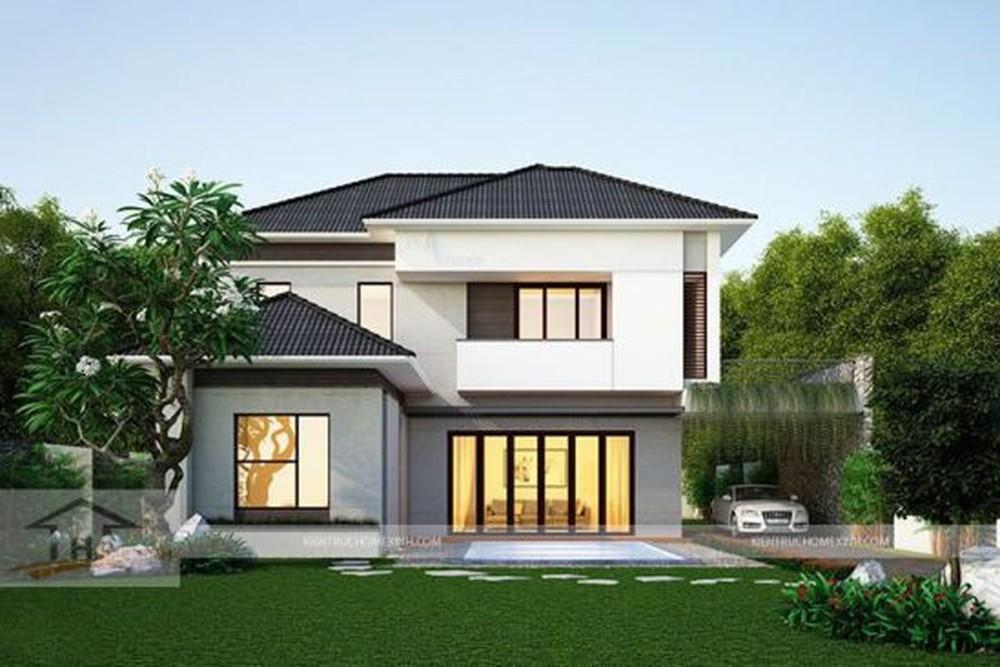 Thiết kế nhà 2 tầng đơn giản