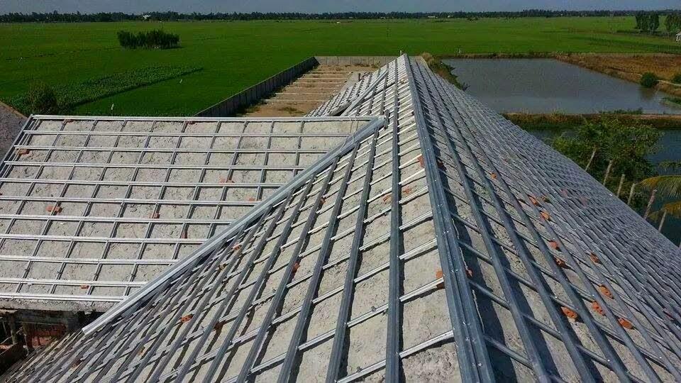 Mái nhà hiện đại