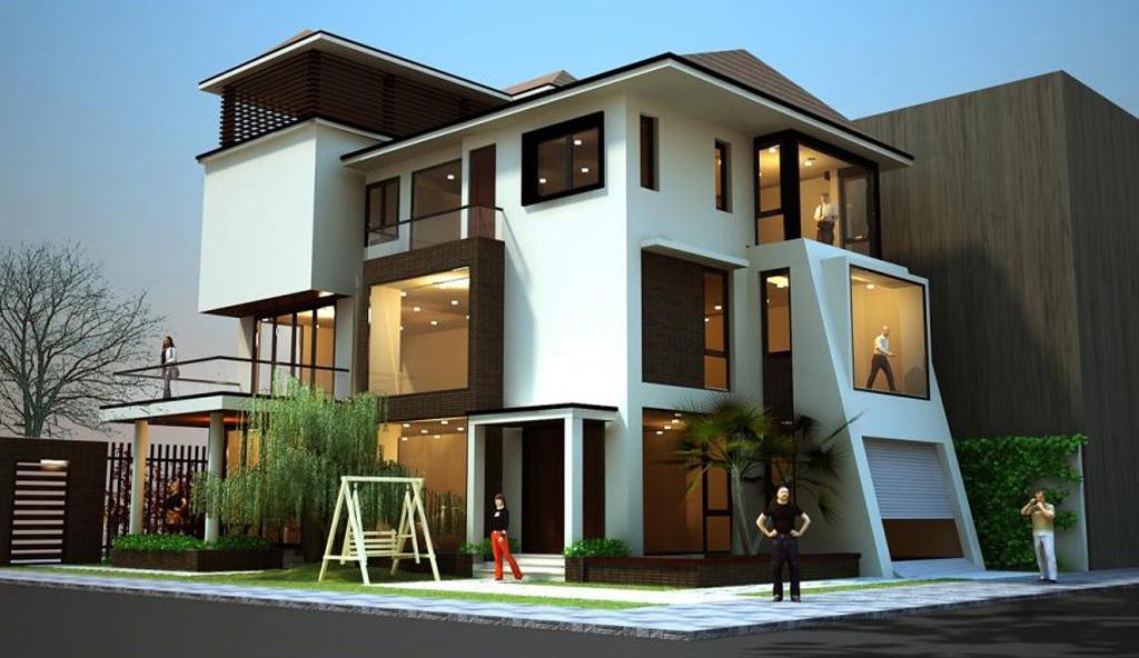 Những mẫu thiết kế nhà đẹp