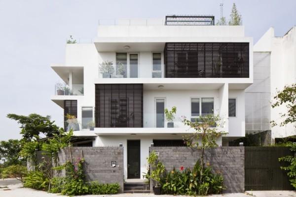 Xu hướng thiết kế mẫu nhà phố hiện đại 2019