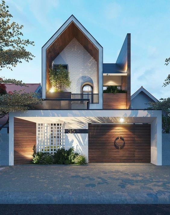 Thiết kế nhà biệt thự 2 tầng