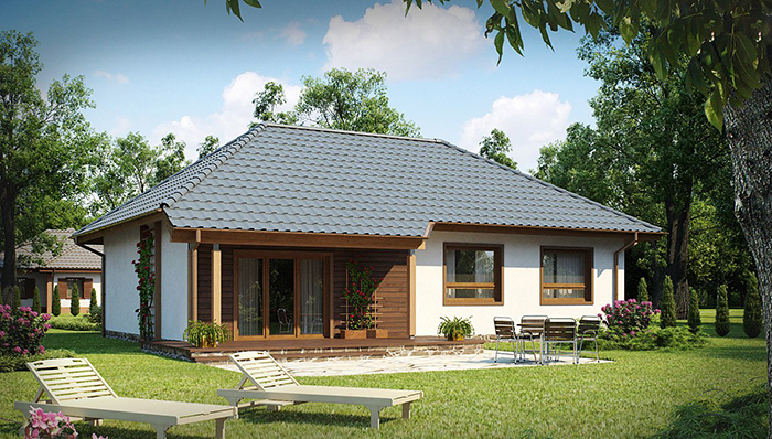 Mẫu thiết kế nhà cấp 4 nông thôn rẻ đẹp