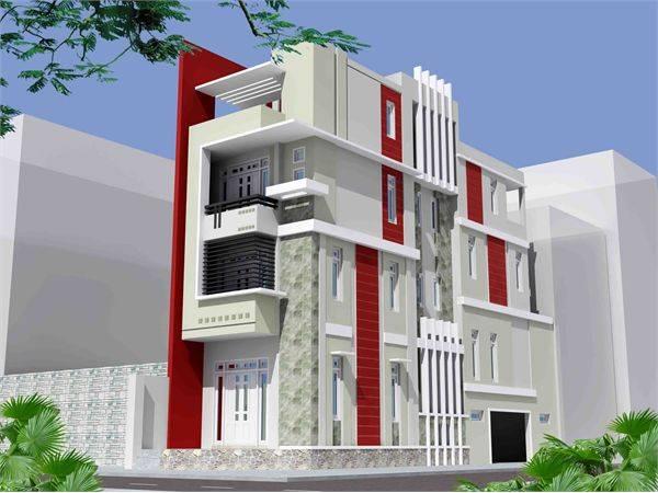Thiết kế mẫu nhà phố