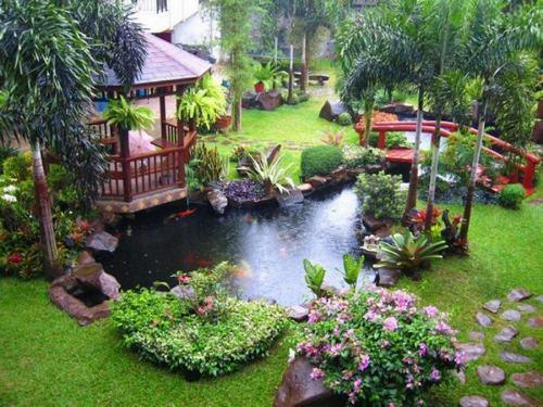 sân vườn nhà