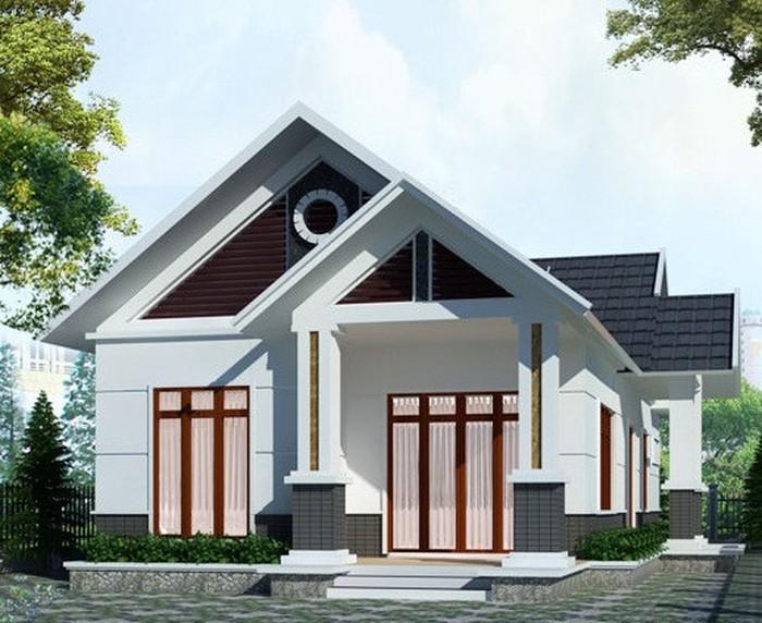 Mẫu nhà mái thái đẹp
