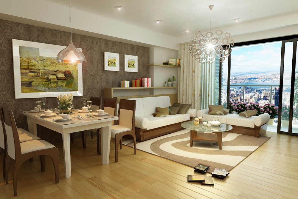 Thiết kế nhà chung cư đẹp