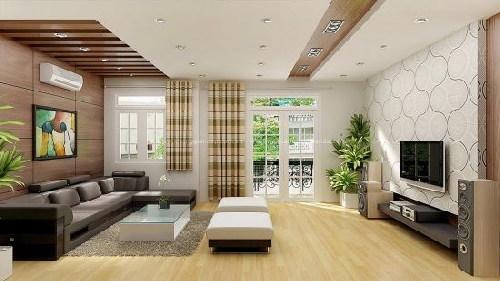Phòng khách đẹp nhà phố