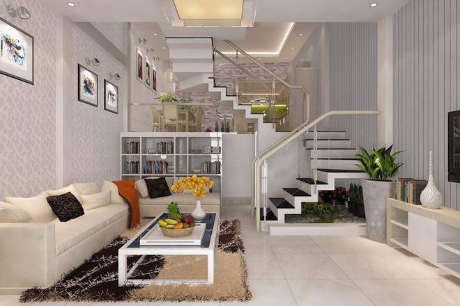 Không gian đẹp cho nhà 2 tầng