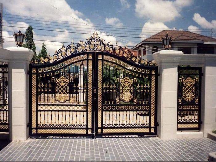 Những cổng nhà đẹp