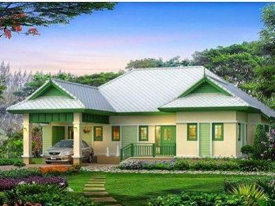 Mẫu nhà đẹp ở nông thôn xây dựng rẻ thiết kế hiện đại