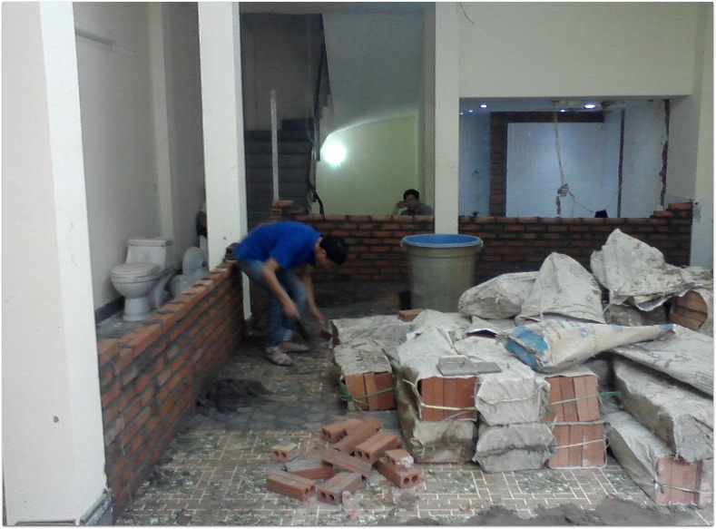 Sửa chữa nhà tại Tp. Hồ Chí Minh
