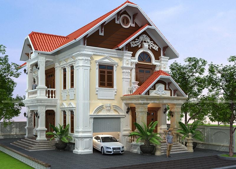 Các kiểu nhà biệt thự đẹp