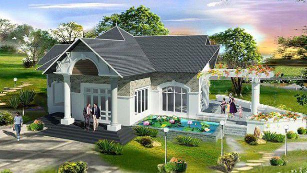 Nhà vườn đẹp rẻ