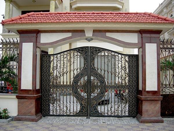 Thiết kế cửa cổng theo phong thủy