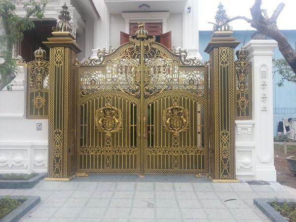 Cổng nhà đẹp