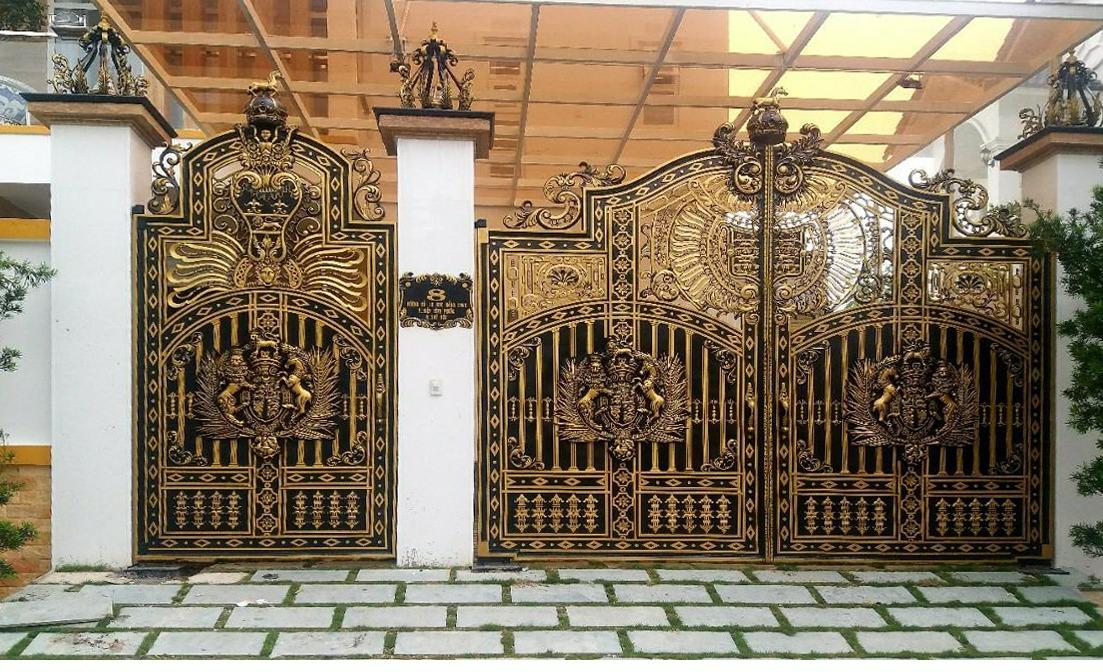 Thiết kế cổng nhà biệt thự