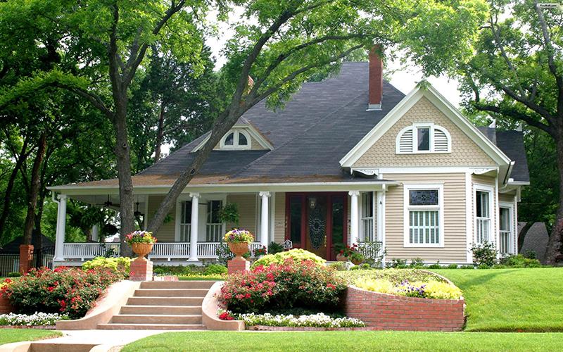 Những mẫu nhà vườn kiểu mỹ