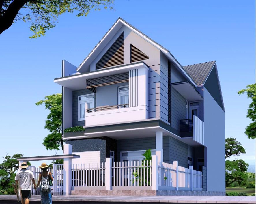 Những thiết kế nhà 2 tầng đẹp