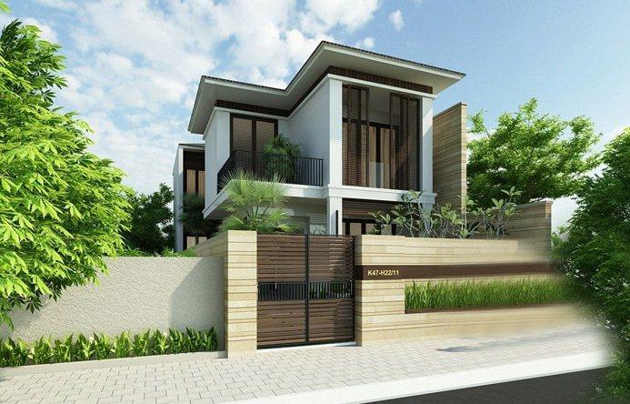Những mẫu nhà 2 tầng ở nông thôn