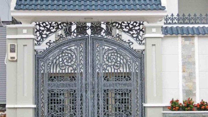 Thiết kế cửa cổng đẹp theo phong thủy