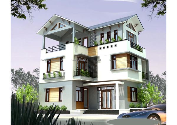Nhà đẹp 3 tầng