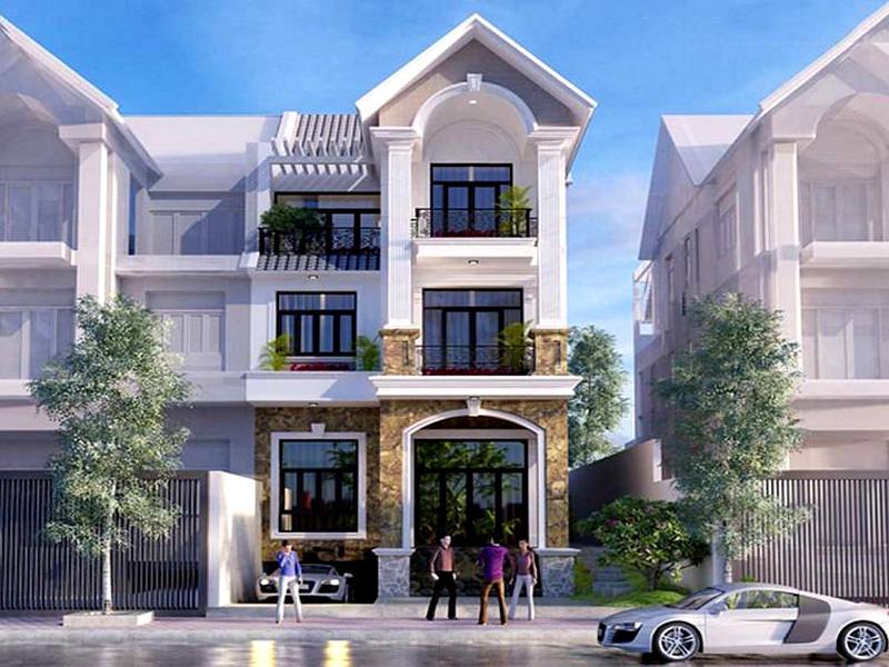 Những ngôi nhà 3 tầng đẹp