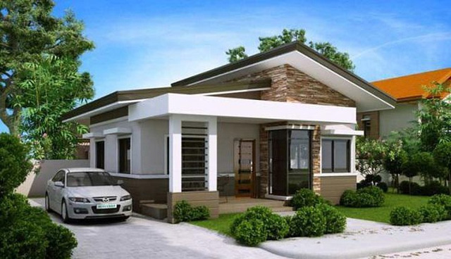 Những mẫu nhà đơn giản mà đẹp