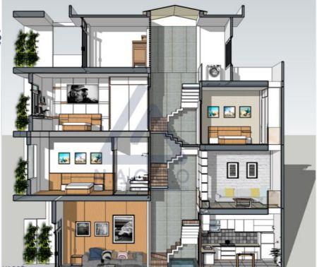 Ưu Điểm Nhà Lệch Tầng - Đất nhà nào hợp với thiết kế lệch tầng?