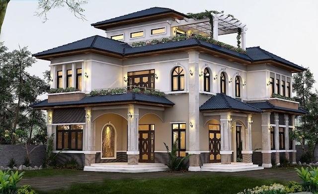 Mẫu nhà biệt thự đẹp