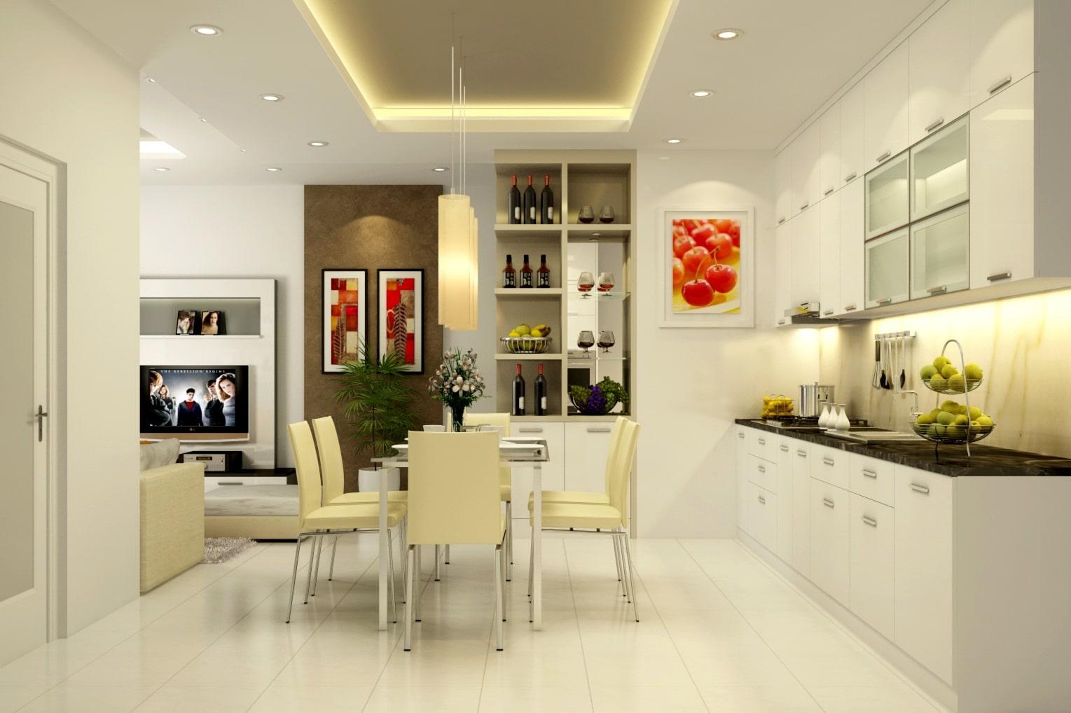 Thiết kế bếp nhà ống