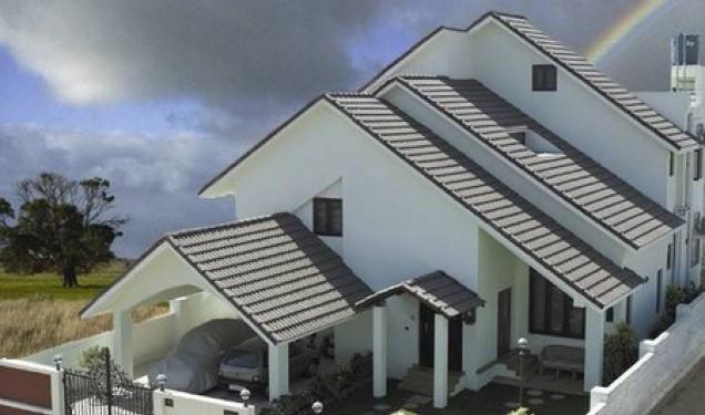 các kiểu mái nhà đẹp