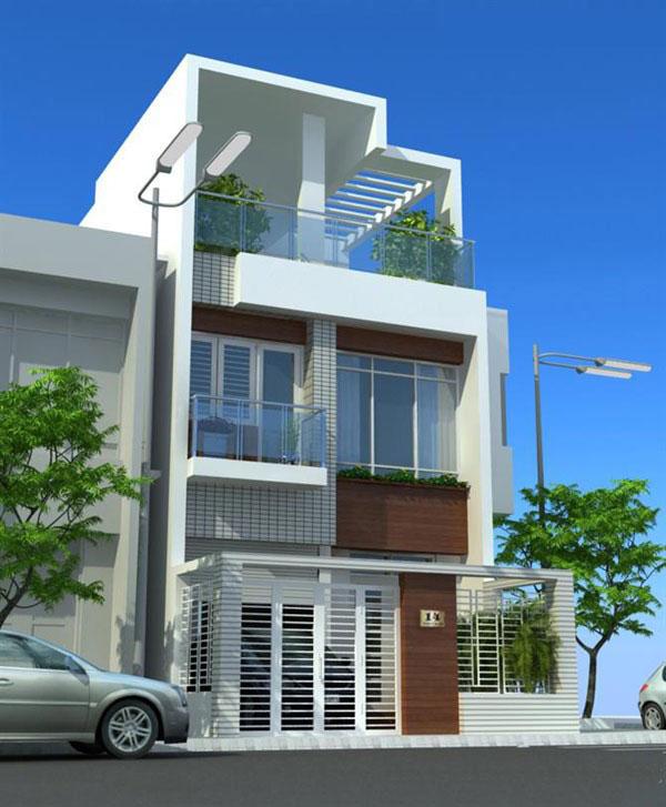 mẫu thiết kế nhà đẹp 5x14