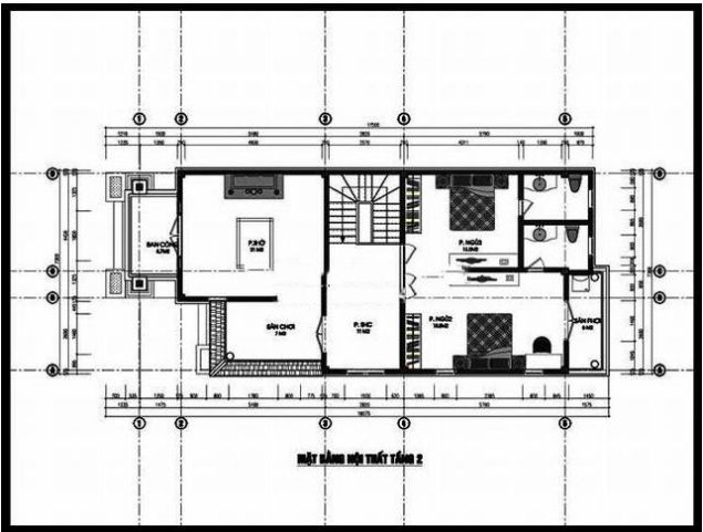 Mẫu thiết kế nhà 7x15m