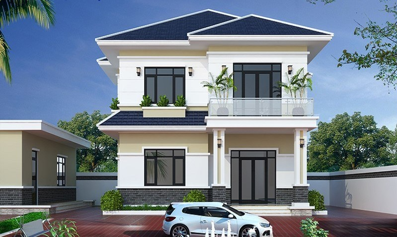 Những mẫu thiết kế nhà 2 tầng đẹp