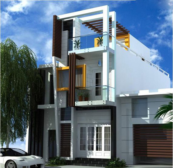 Những mẫu nhà 2 tầng đẹp