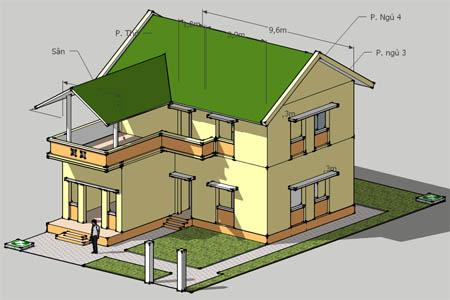 Thiết kế ngôi nhà