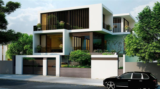 Thiết kế nhà biệt thự