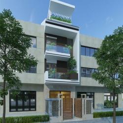 Mẫu thiết kế nhà 3 tầng đẹp