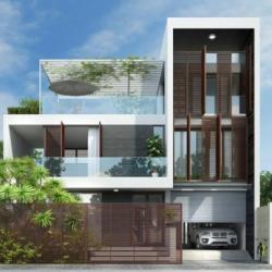 Những mẫu nhà phố hiện đại