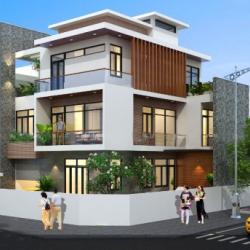 Thiết kế nhà biệt thự 3 tầng
