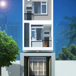 Thiết kế nhà đẹp 5x20