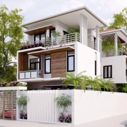 Thiết kế nhà đẹp 60m2