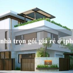 Tư vấn xây nhà giá rẻ