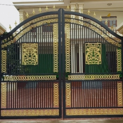 Xây cổng đẹp
